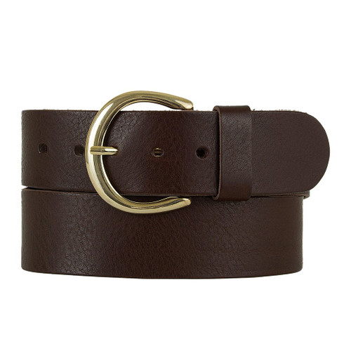 Gigi Horseshoe-buckle Wide Belt