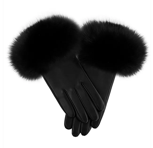 Fox Leather Gloves