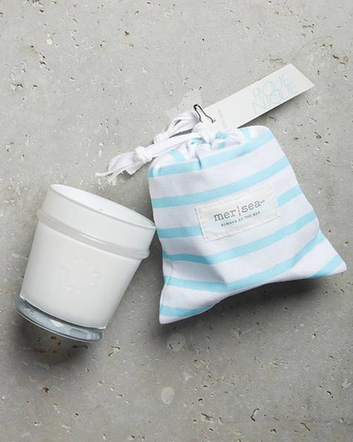Pique-Nique Striped Sandbag Candle