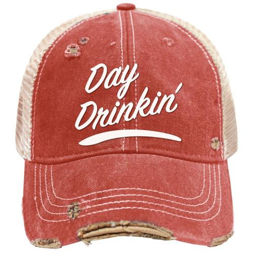 Day Drinkin' Mudwashed Snap Back Trucker Hat