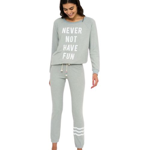 Never Not Have Fun Hacci Pullover