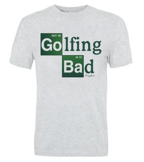 Golfing Bad Short Sleeve Tee