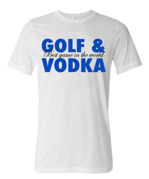 Golf & Vodka Short Sleeve Tee