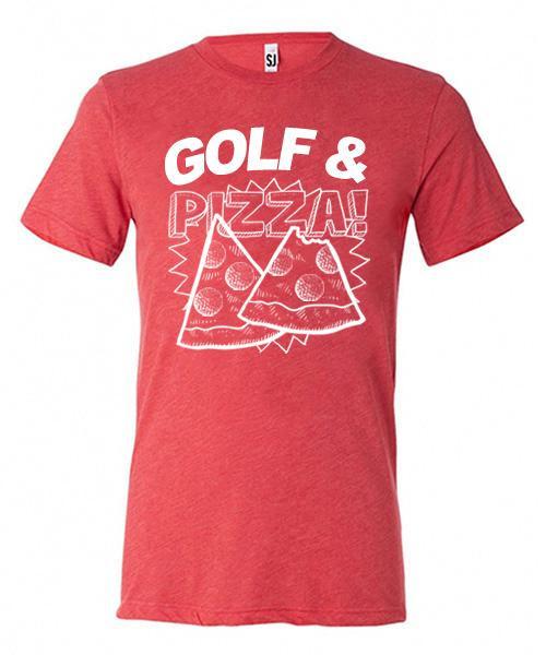 Golf & Pizza Short Sleeve Tee