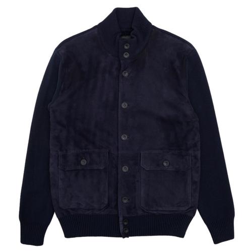 Pattern Wool Jacket