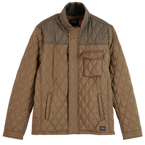 Classic Short Quilted Jacket