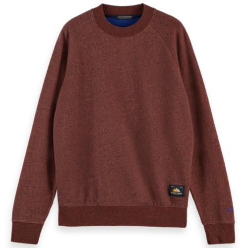Cotton Mélange Crewneck Sweatshirt