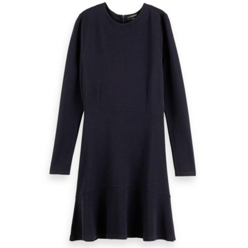 Rib Knit Sweat Dress