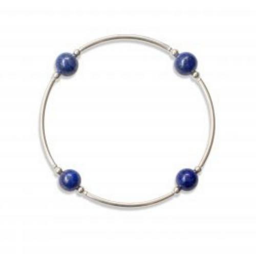 8MM Lapis Blessing Bracelet