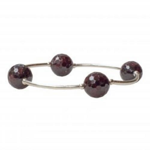 8MM Garnet Blessing Bracelet