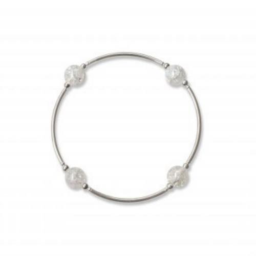 8MM Snowflake Quartz Blessing Bracelet