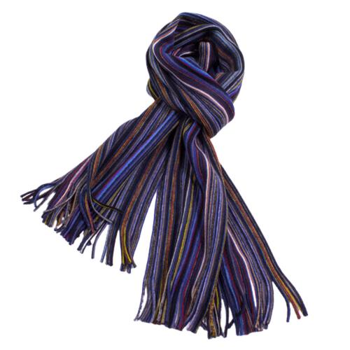 Wool Knit Pencil Stripe