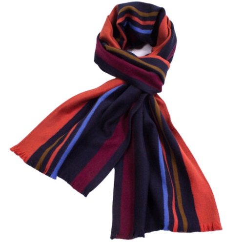 Brushed Silk Sport Stripe