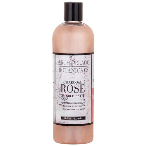 Charcoal Rose Bubble Bath 16 oz.
