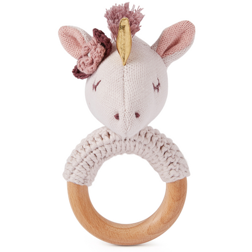 Ring Rattle - Unicorn