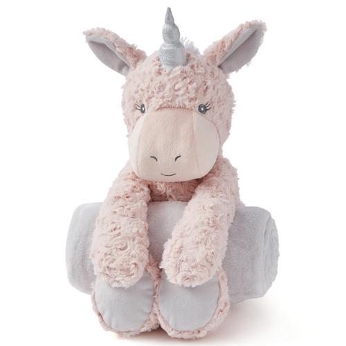Bedtime Huggie - Pink Unicorn Swirl