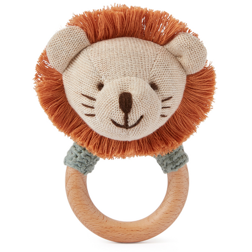 Ring Rattle - Lion