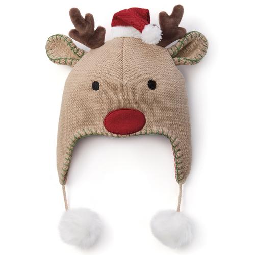 Aviator Reindeer Hat