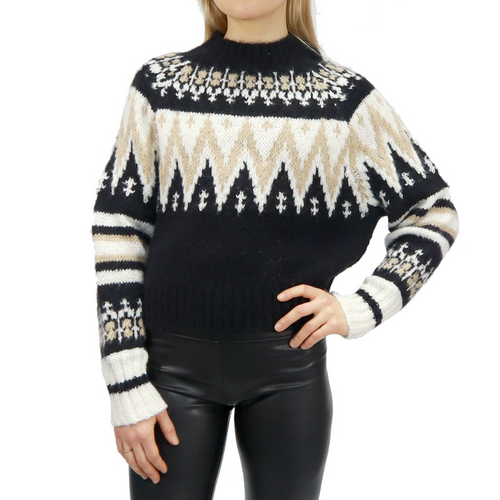 Ladies Knit Sweater 72S747S