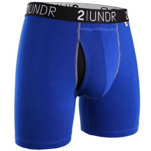 Swing Shift Boxer Brief - Blue/Blue