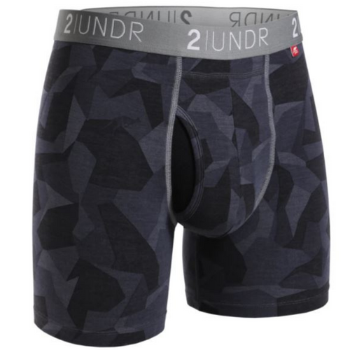 Swing Shift Boxer Brief - Black Camo
