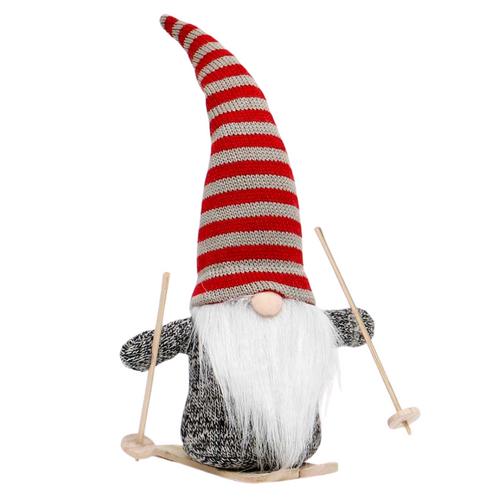 "Gnome 11.5"" Red Stripe Hat Skis"