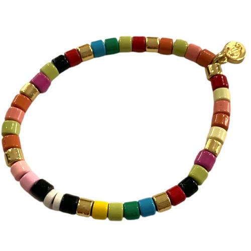 Laguna Bracelet- Rainbow Gold