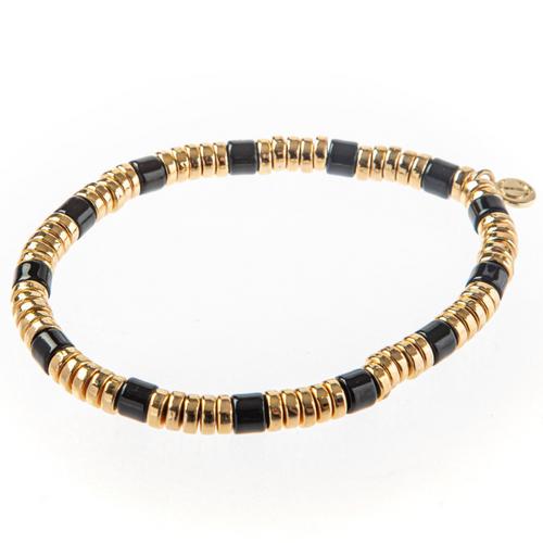 Laguna Bracelet- Black/Gold