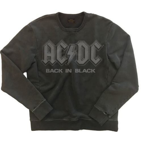 Vintage French Terry AC/DC Unisex Sweatshirt