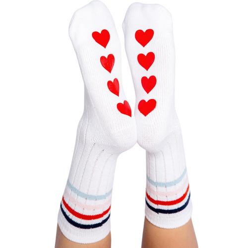 Fun Socks Stripe/Hearts
