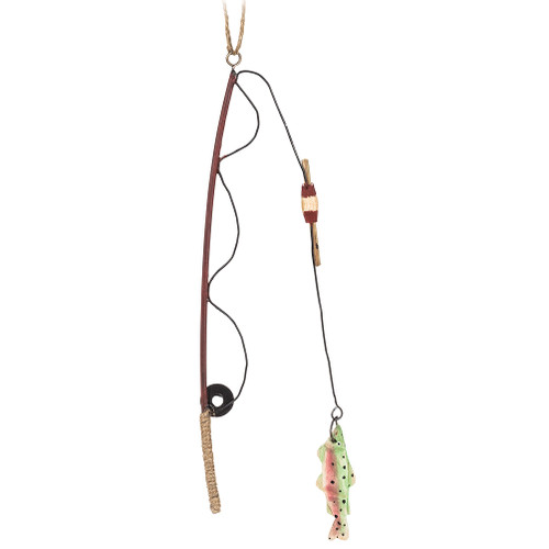 Fishing Rod Ornament