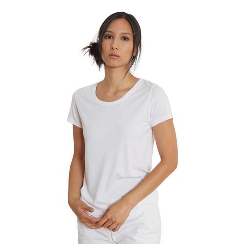 Short Sleeve Crewneck Tee - White