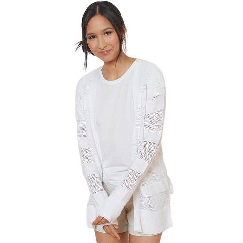 Crochet Cardigan - White