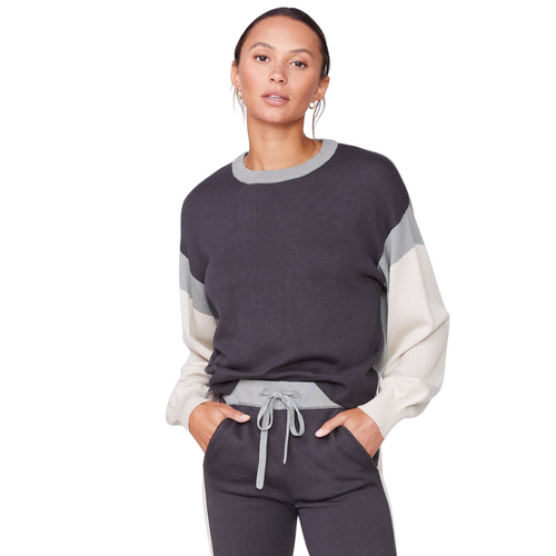 Color Block Relaxed Sweater