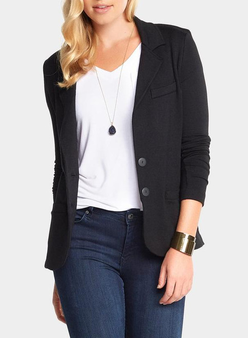 Essential Blazer Black