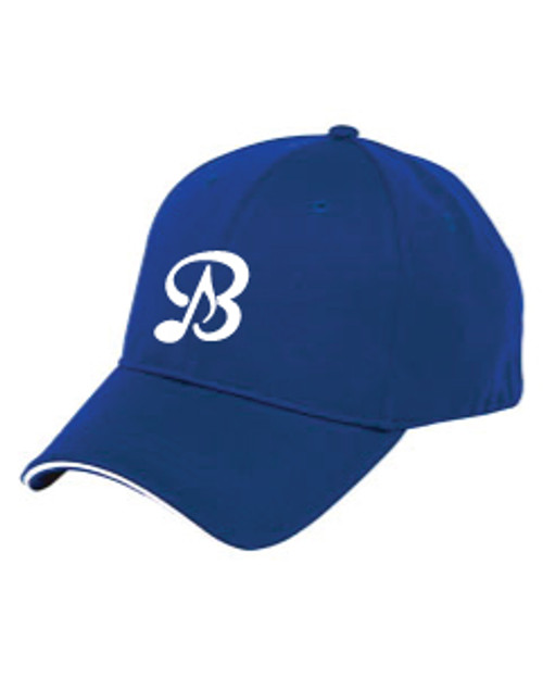 Royal Blue Low-Profile Adjustable Hat