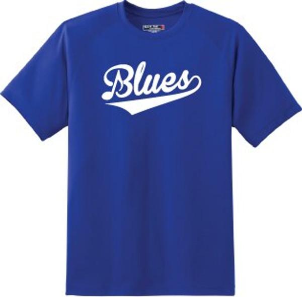 Youth Royal Blue Tagless Cotton T-shirt