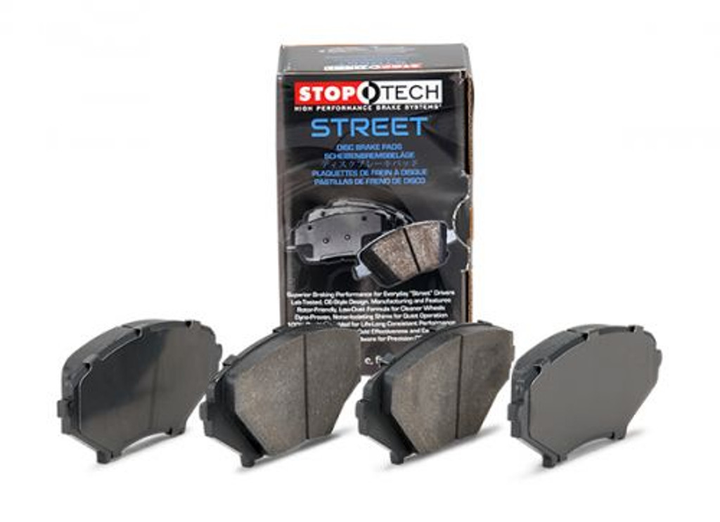 StopTech 02-03 Civic SI Front Rear Street Brake Pads