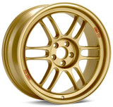 "Enkei RPF1 Wheels (17x8"", 45mm, 5x114.3) Gold"