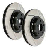 STOPTECH REAR SLOTTED ROTORS | 2003-2006 MITSUBISHI EVO 8 / 9 (126.46065S)