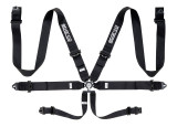 SPARCO 6-POINT 3IN STEEL HARNESS | (04818RACNR)