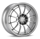 Enkei NT03+M 17x9.5 5x120.7 55mm Offset 72.6mm Bore Silver Wheel