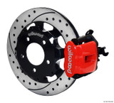 Wilwood '06'-15 Civic Rear Big Brake Kit: Red Caliper and Drilled Rotor
