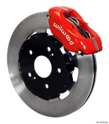 Wilwood 02-06 RSX Type-S 4 Piston Dynalite Front BBK: Red Caliper/Plain Rotor