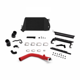 Mishimoto 15-16 WRX Black Top-Mount Intercooler And Charge-Pipe System