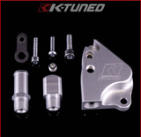 K-TUNED INTAKE MANIFOLD ADAPTER: K20 MANIFOLDS ON K24 (COOLANT ADAPTER)