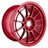 Enkei NT03+M 18x9.5 5x100 40mm Offset Competition Red Wheel
