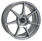Enkei TFR 17x8 5x114.3 35mm Offset 72.6 Bore Diameter Storm Gray Wheel