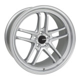 Enkei TSP5 17x8 5x114.3 35mm Offset 72.6mm Bore Silver Wheel