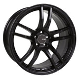 Enkei TX5 17x8 5x100 45mm Offset 72.6mm Bore Black Paint